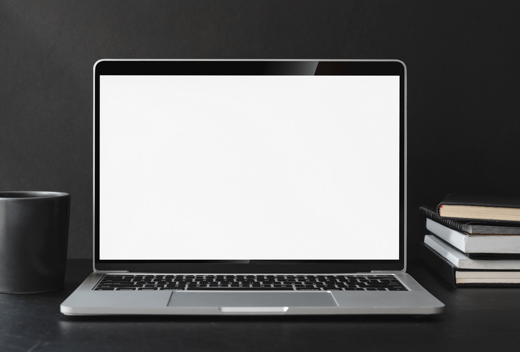 laptop screen blank - for test
