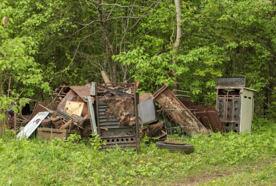 pile of scrapmetal